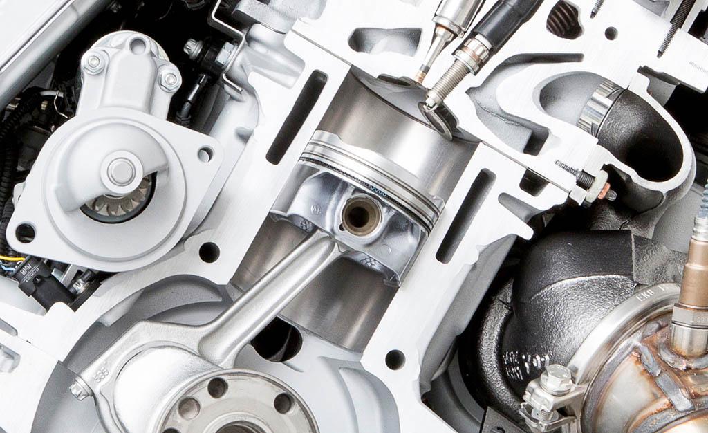 طراحی موتور بر اساس سیلندر نیم لیتری