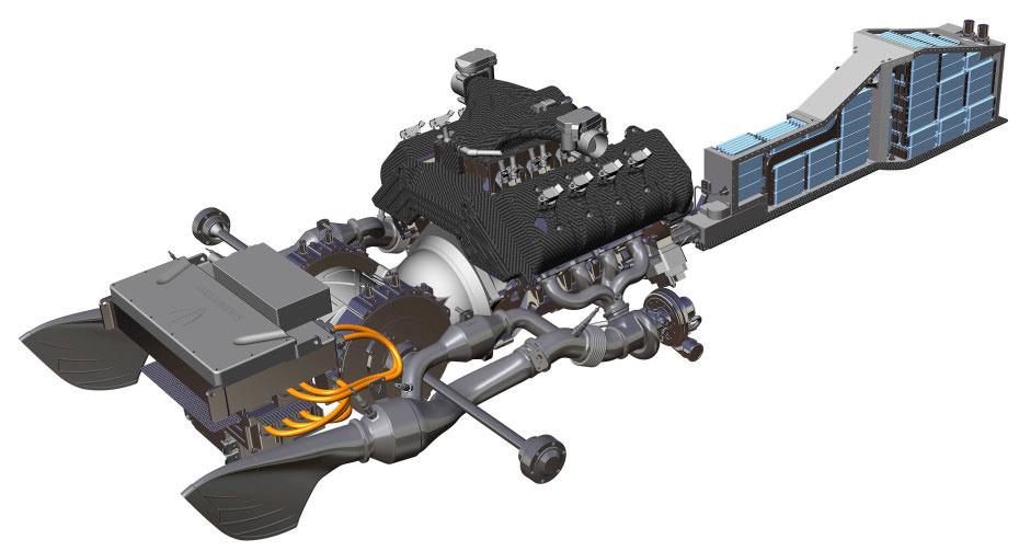 سیستم انتقال قدرت بدون جعبه دنده در کونیخ زِگ رگرا